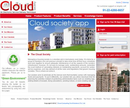 Cloud Society poster
