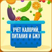 Учет Калорий, Питания и БЖУ icon