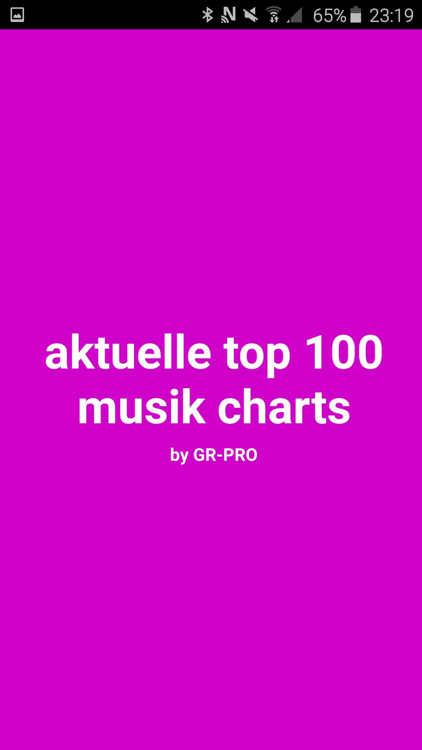 Aktuelle Musikcharts