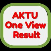AKTU One View Result icon