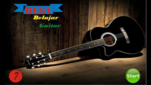BeGu (Belajar Guitar) poster