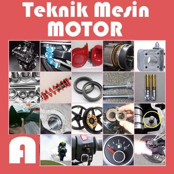 Teknik Mesin Motor poster