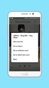 Sholawat Ceng Zam Zam Populer Offline screenshot 2