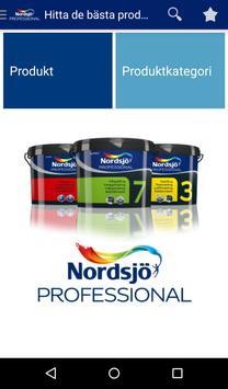 Nordsjö Professional SV poster