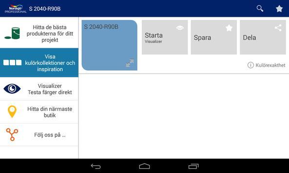 Nordsjö Professional SV apk screenshot