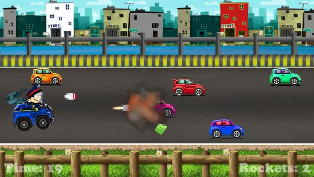 car racing games kids police poster car racing games kids police apk screenshot