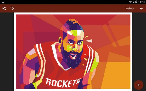 HD NBA Wallpaper Basketball Apk Screenshot