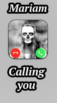 Fake Call From Ghost - mariam poster