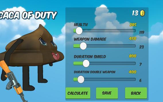 Caca of Duty apk screenshot