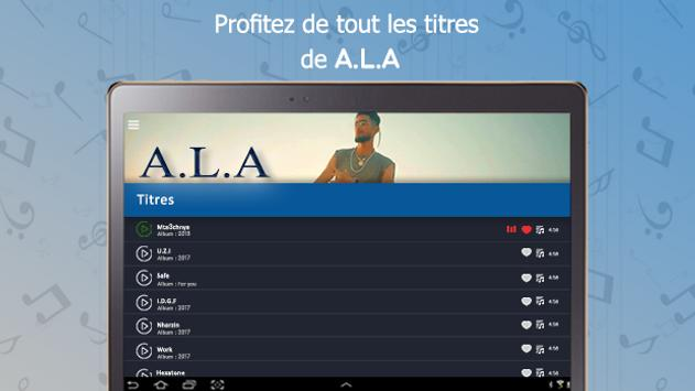ALA : songs, lyrics,..offline screenshot 7