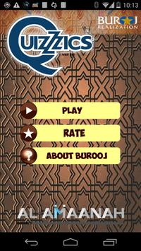 QuizZzics Burooj Islamic Quiz poster
