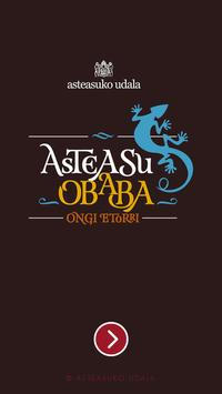 Asteasu / Obaba EU poster