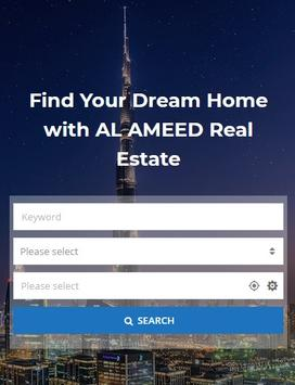 ALAMEED REAL ESTATE poster