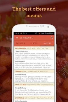 AlaMesa: eat and drink in Cuba apk screenshot