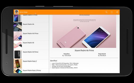 Harga HP Xiaomi Terbaru Offline Screenshot 3