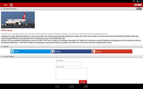 Alanya Postası screenshot 5