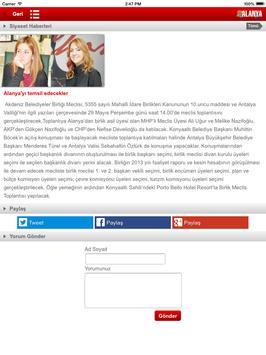 Alanya Postası screenshot 8