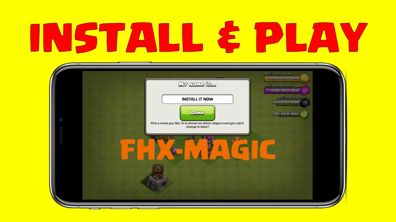 Fhx magic S2 coc work for Android - APK Download
