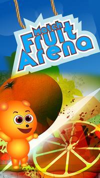 Match Fruit Arena-Fruit crush-New Fruit games-Real poster