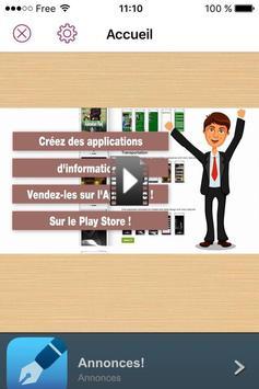 Tuto applis mobiles sans coder poster