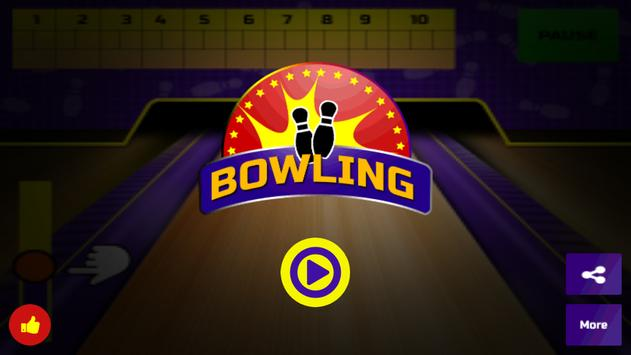 Bowling Game 3D poster