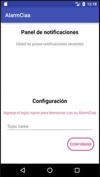 Alarm-CIAA screenshot 1