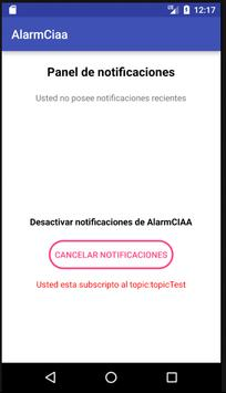 Alarm-CIAA screenshot 2
