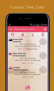 Alarm Clock Set 6 7 8 AM screenshot 3