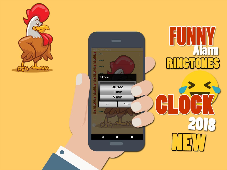 Alarm Funny Ringtones Clock 2018 🔔 cho Android - Tải về APK
