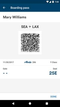 Alaska Airlines - Travel apk screenshot