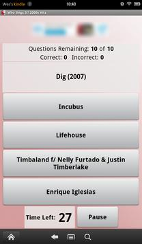 Who Sings It? 2000s Hits apk screenshot