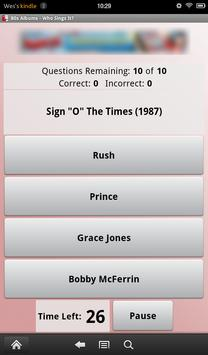 80s Albums: Who Sings It? screenshot 9