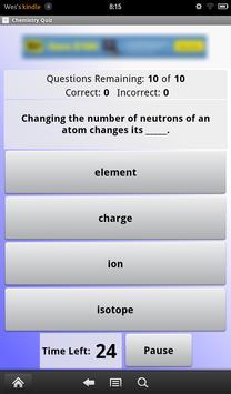 Chemistry Quiz screenshot 1