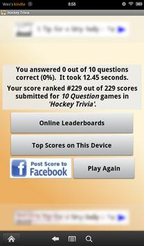 Hockey Trivia apk screenshot