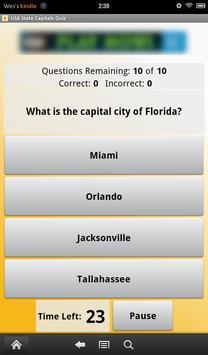 USA State Capitals Quiz apk screenshot