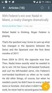 Tennis Magazine apk screenshot