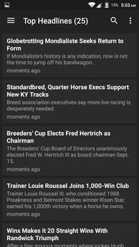 Horse Racing Latest News screenshot 4