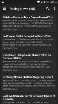 Horse Racing Latest News screenshot 5