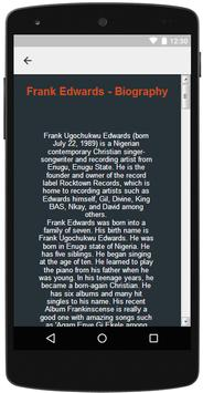Frank Edwards Songs & Lyrics screenshot 5