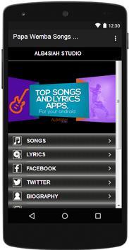 Papa Wemba Songs & Lyrics screenshot 4
