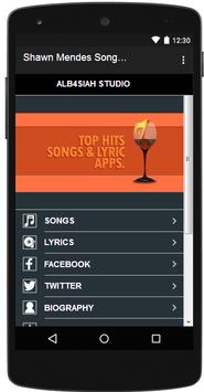 Shawn Mendes  Songs & Lyrics screenshot 4