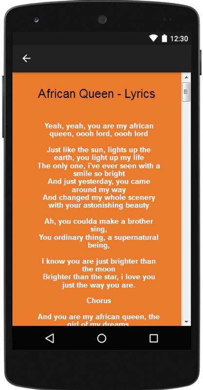 6 2Face Idibia Songs Lyrics