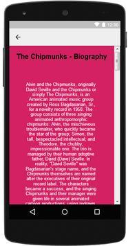 The Chipmunks Songs & Lyrics screenshot 5