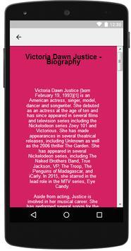 Victoria Justice Songs apk screenshot