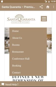 Santa Quaranta Premium Resort apk screenshot
