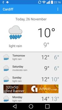 Cardiff weather for Android - APK Download