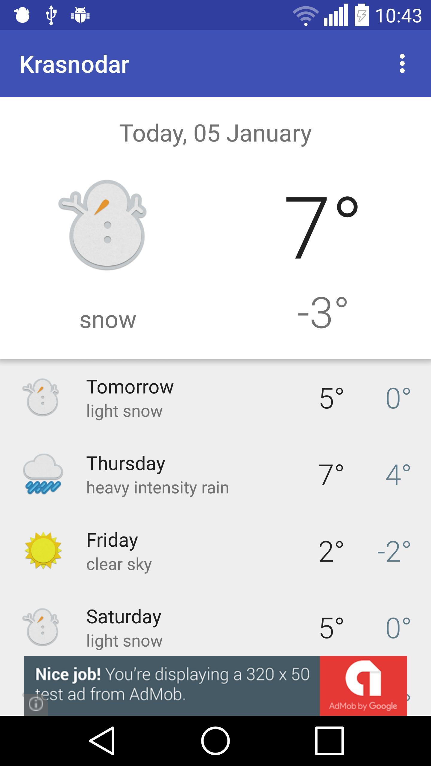 Krasnodar Weather For Android Apk Download