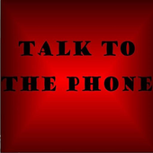 Talk to the phone icon