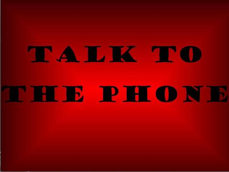 Talk to the phone apk screenshot