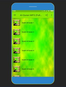 Al-Quran MP3 KOMPLIT screenshot 1